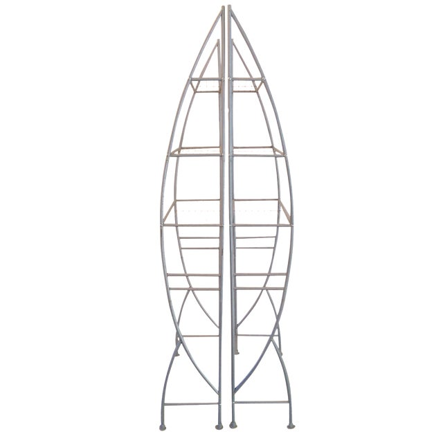 Rocket Ship Shelves - A Pair - Image 1 of 7