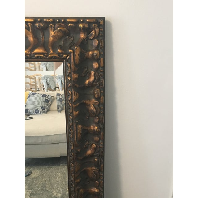 Uttermost Bronze Wall Mirror - Image 3 of 4