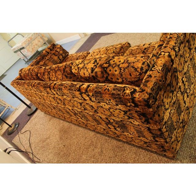 Mid Century Milo Baughman Forecast Furniture Sofa - Image 11 of 11