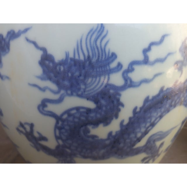 Chinese Blue & White Pagoda Temple Vases - A Pair - Image 5 of 7