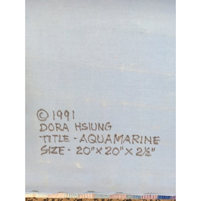 1990s Dora Hsiung Woven Sculpture For Sale - Image 4 of 11