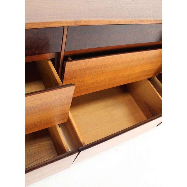 Danish Mid-Century Modern Walnut Long Dresser or Credenza by John Stuart For Sale - Image 9 of 10