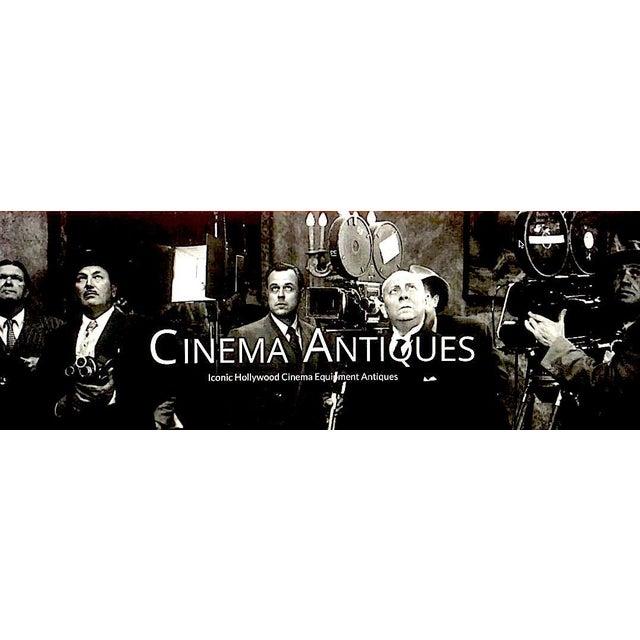 Seimens Studio Movie Film Projector Circa 1958 Rare Original 'Berlin' Green For Sale - Image 10 of 11