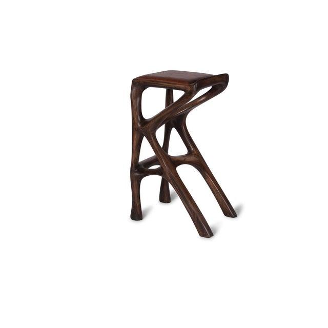 Brown Custom Chimera Barstool For Sale - Image 8 of 8