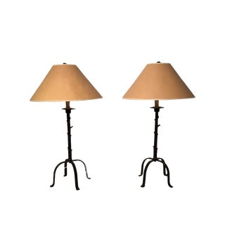 Robert Abbey Buffet Lamps - A Pair For Sale