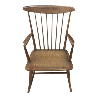 Mid-Century Rocker Chair For Sale