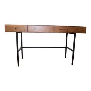 Mid Century Modern Walnut Hudson Desk For Sale