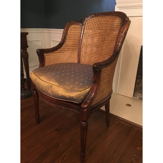Strange Theodore Alexander Louis Bergere Accent Chairs A Pair Short Links Chair Design For Home Short Linksinfo