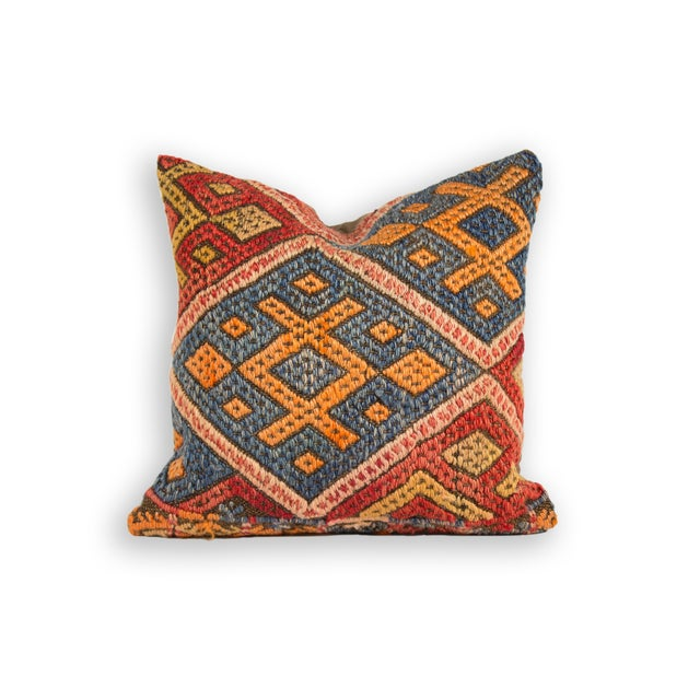 Vintage Turkish Kilim Pillow - Image 1 of 2