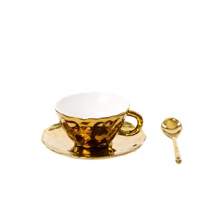 Seletti, Fingers Teacup and Saucer With Spoon, Marcantonio, 2018 For Sale