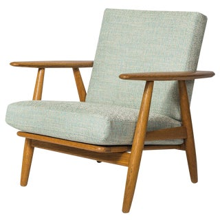 "Hans Wegner GE-240 ""Cigar"" Chair For Sale"