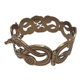 Kalevala Koru Finland: Iku-Turso Vintage Bronze Bracelet For Sale