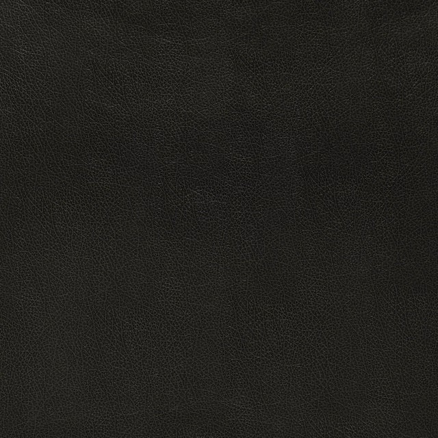 Contemporary Sample - Schumacher Canyon Leather Wallpaper in Raven For Sale - Image 3 of 3