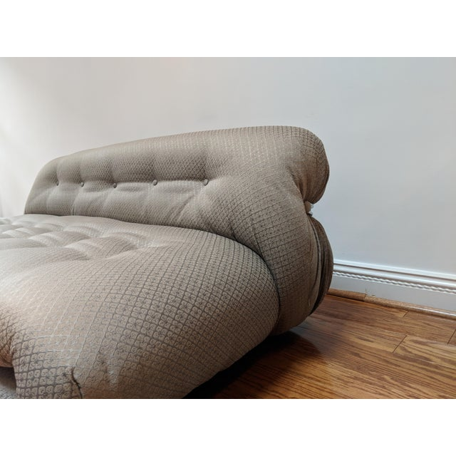Cassina 1970s Mid-Century Modern Tobia and Afra Scarpa Soriana Sofa For Sale - Image 4 of 8