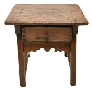 Early 18th Century Spanish Colonial Rustic Small Table Preview