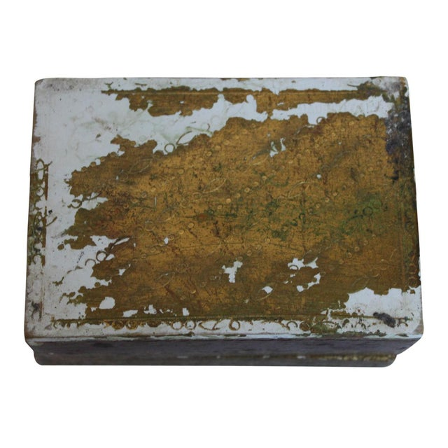 Small Italian Wood Box For Sale - Image 4 of 4