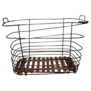20th Century French Baguette Trolley For Sale