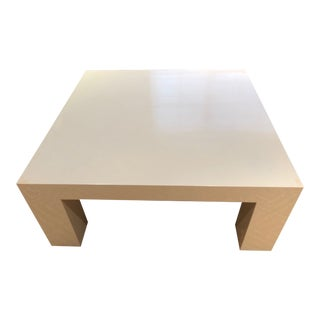 Mid-Century Modern Jonathan Adler Lacquer Coffee Table For Sale