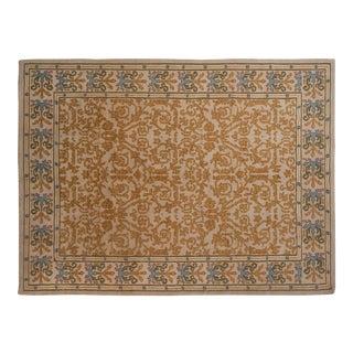 "Vintage Spanish Arts and Crafts Design Carpet - 8'9"" X 11'9"" For Sale"