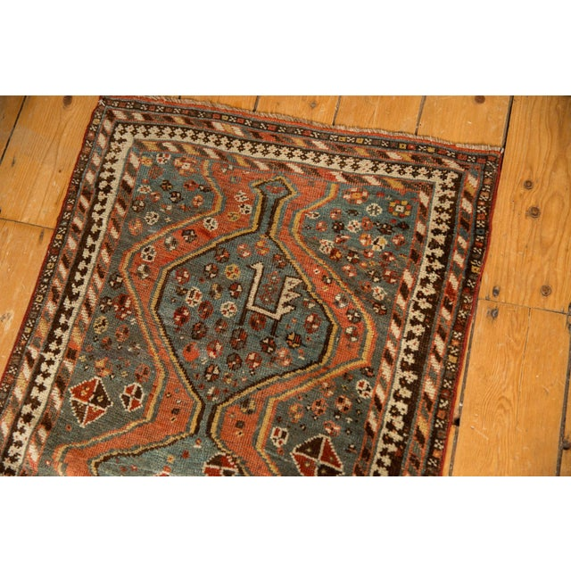"""Old New House Vintage Kamseh Rug - 2'5"""" X 4'3"""" For Sale - Image 4 of 9"""
