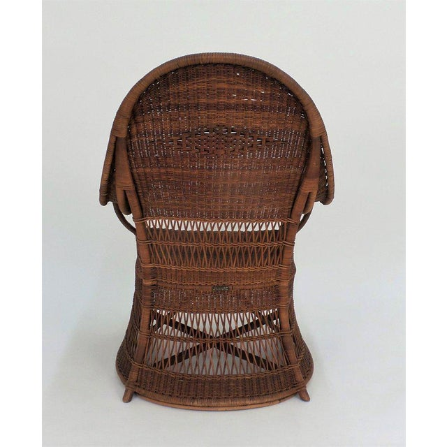 """""""Guests Welcome"""" Chair by Dryad & Co. For Sale - Image 4 of 8"""