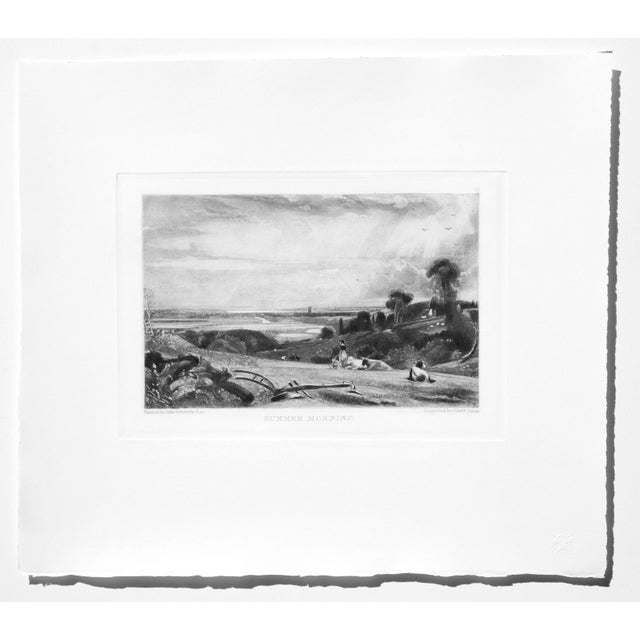 John Constable & David Lucas Mezzotint Collection From the Tate Gallery in London 1990's - Set of 16 For Sale - Image 4 of 14