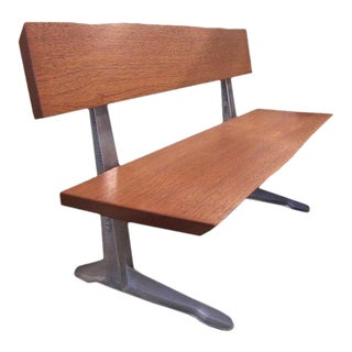 Get Back Inc. Free-Form Mahogany Bench For Sale