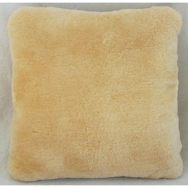 Pierre Frey Plush Lambswool Pillows - A Pair - Image 4 of 10