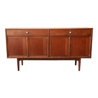 Kipp Stewart for Drexel Declaration Mid-Century Modern Walnut Sideboard Credenza For Sale