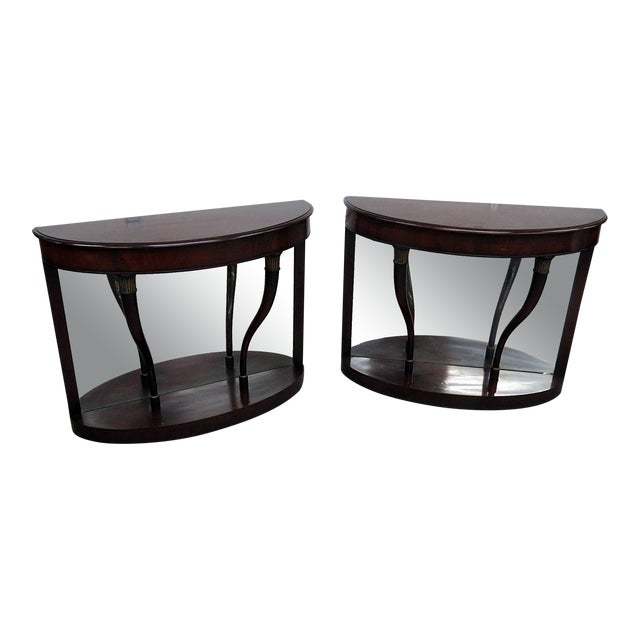20th Century Regency Style Pier Tables - a Pair For Sale