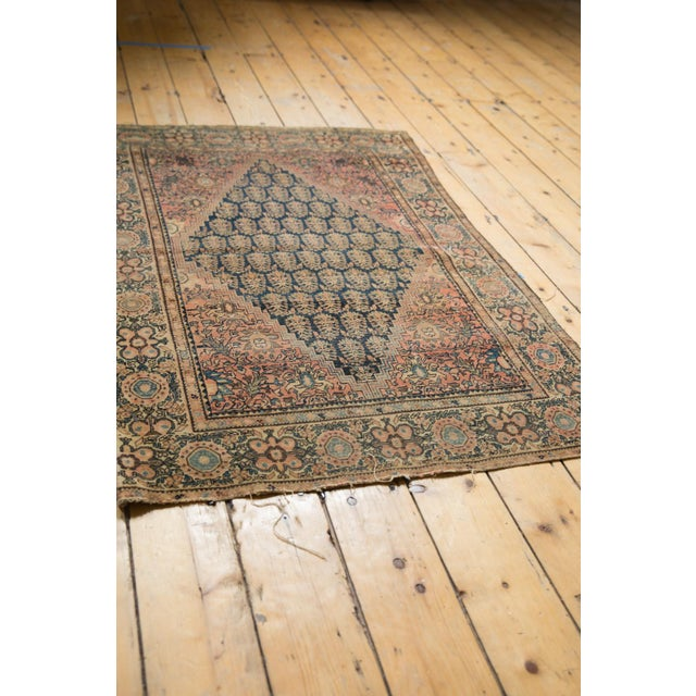 """Antique Farahan Sarouk Rug - 3'3"""" X 4'8"""" For Sale In New York - Image 6 of 13"""