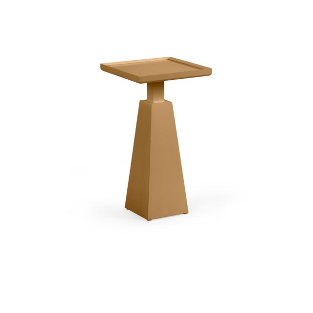 Transitional Casa Cosima Hayes Spot Table, Mystic Gold For Sale - Image 3 of 3