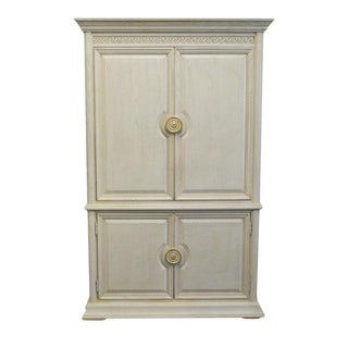 20th Century Traditional Thomasville Renaissance Collection Armoire For Sale