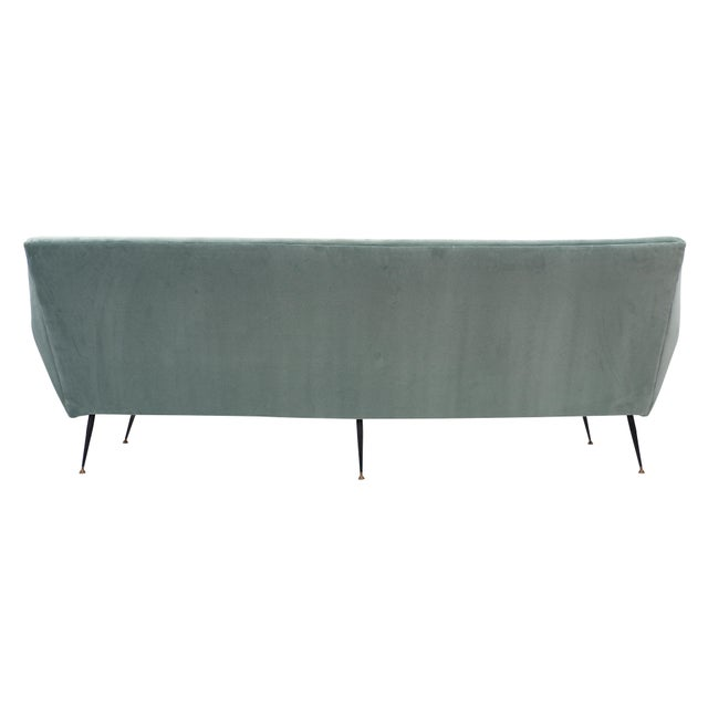 Italian Mid-Century Sofa For Sale - Image 9 of 10