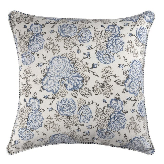 Traditional Inka Azura Pillow For Sale - Image 3 of 3