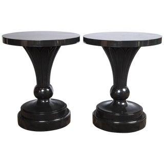 1940s Vintage Dorothy Drape Custom Made Tables - a Pair For Sale