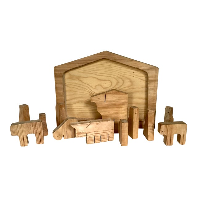 Handmade Wooden Puzzle - Image 1 of 3