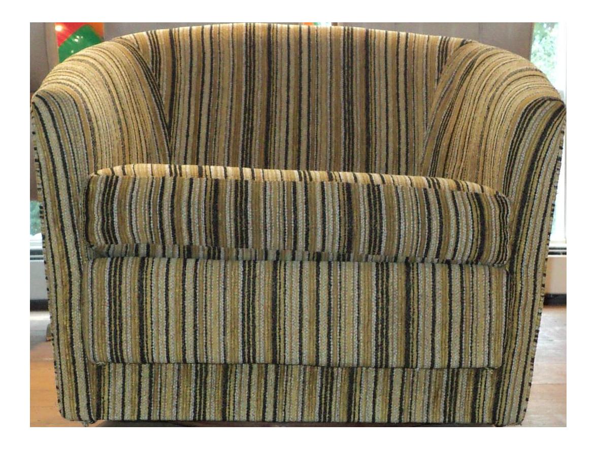 Mid Century Modern Multi Color Swivel Club Barrel Chair Town Mix