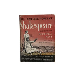 """Complete Works of William Shakespeare"" Illustrated by Rockwell Kent 1936"