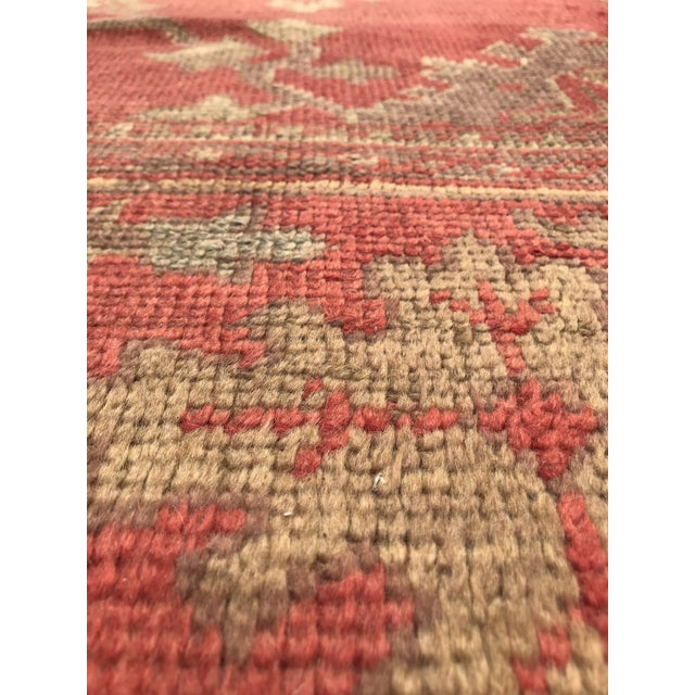 """Antique Turkish Rug - 12'6"""" x 15'7"""" For Sale In San Francisco - Image 6 of 12"""