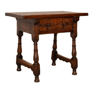 19th C Spanish Side Table For Sale