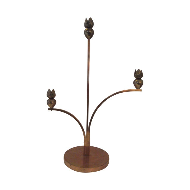 Cyrille Steiner Arts and Crafts Candlestick - Image 1 of 8