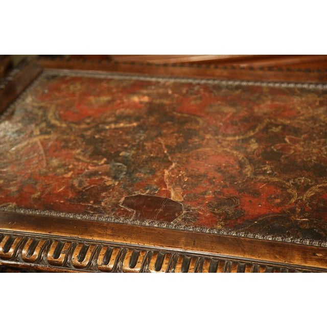 Louis XIII Carved Walnut Center Table For Sale - Image 10 of 10