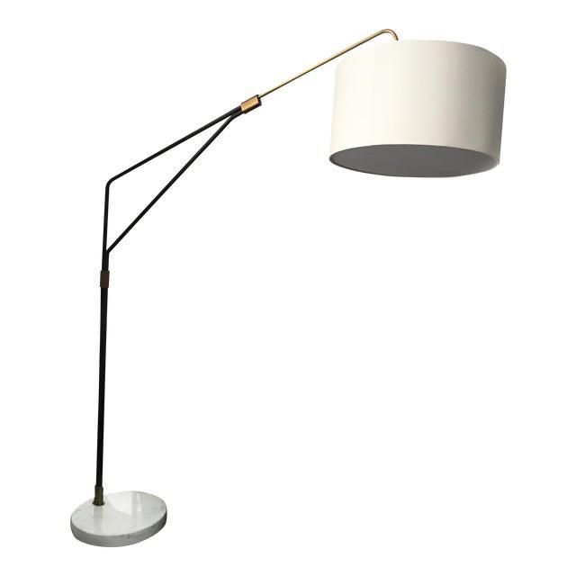 Mid-Century Style Arc Floor Lamp - Image 1 of 5