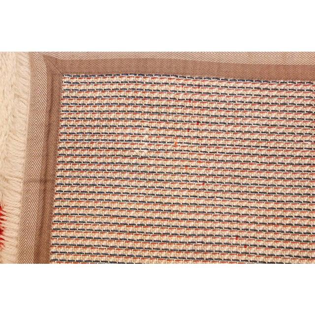 Vintage Swedish Deco Rug - 2′7″ × 5′1″ For Sale - Image 9 of 10