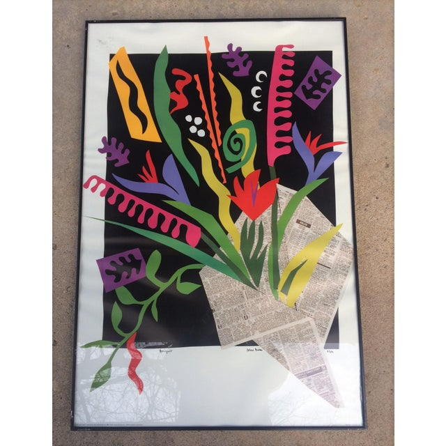 """Alex Boies Signed """"Bouquet"""" Offset Lithograph For Sale In Washington DC - Image 6 of 6"""