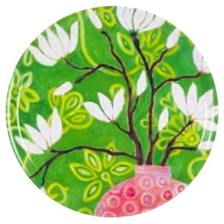 """In Bloom"" Round Tray"
