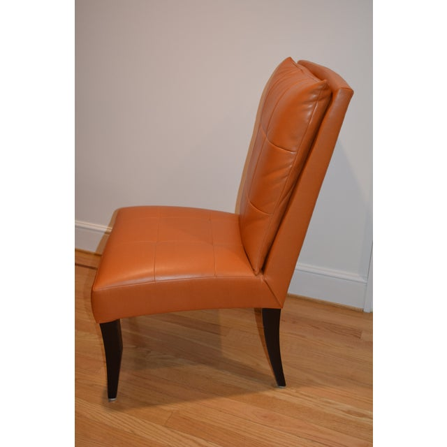 Dakota Jackson Puff Chairs Dining Chairs - Set of 6 For Sale In San Francisco - Image 6 of 8
