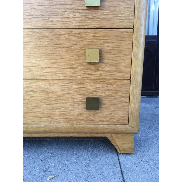 Metal 1940s Art Deco Petite Chest of Drawers For Sale - Image 7 of 13