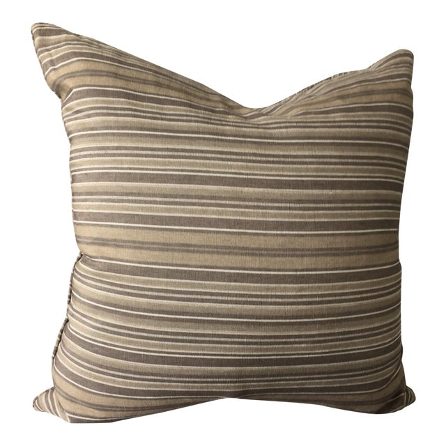 Christian Liaigre Linen Throw Pillow - Image 1 of 7